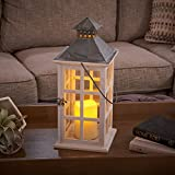 Smart Design Camden Lantern with LED Candle