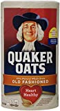 Quaker Oats Old Fashioned Oatmeal, 18-Ounce Canisters (Pack of 6)