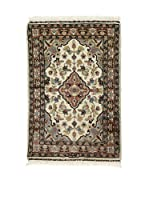 L'Eden del Tappeto Alfombra Kashmirian F/Seta Multicolor 61 x 91 cm