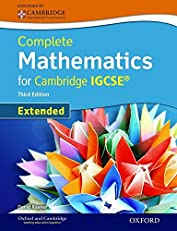 Complete Mathematics for Cambridge IGCSE (Extended)
