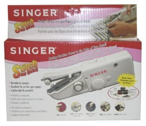 Singer Stitch Sew Quick, Hand Held Sewing Machine, New, (Singer Lube compare prices)