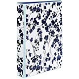 Avery 5-1/2 x 8-1/2 Inches Mini Durable Style Binder with 1-Inch Round Rings, Painted Floral (18444)