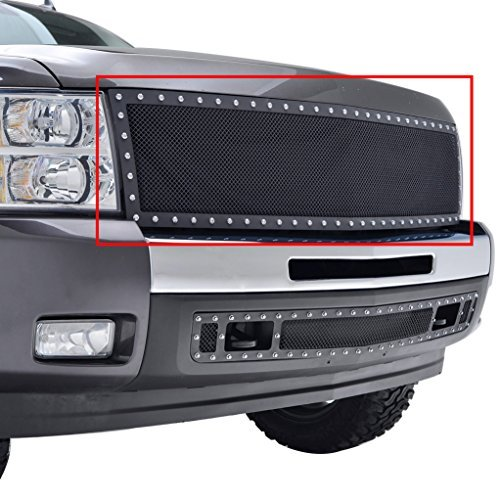 e-autogrilles-07-13-chevrolet-silverado-1500-rivet-all-black-stainless-steel-wire-mesh-replacement-p