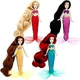 Disney Princess Exclusive Mini Princess Mermaid Doll Set #3 Alana, Ariel, Adella Arista