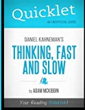 img - for Quicklet - Daniel Kahneman's Thinking, Fast and Slow book / textbook / text book