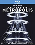 Cover art for  The Complete Metropolis [Blu-ray]