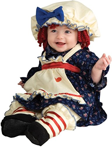 Ragamuffin Dolly Child Costume Size 2-4 Toddler
