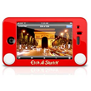 Headcase Etch-A-Sketch case for iPhone 3G/3GS at Amazon