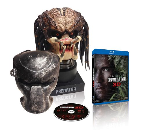 Predator (Blu-ray 3D + Blu-ray 2D + Escultura)