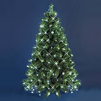 Mantello di luci per albero di natale 3 8 x h 2 m 195 - Addobbi di natale per esterno ...