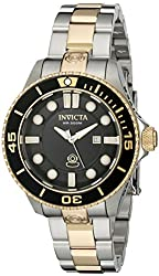 Invicta Women's 19815 Pro Diver Analog Display Swiss Quartz Two Tone Watch