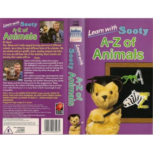 Amazon.com: Sooty [VHS]: Richard Cadell, Graham Cole, Richard Coombs
