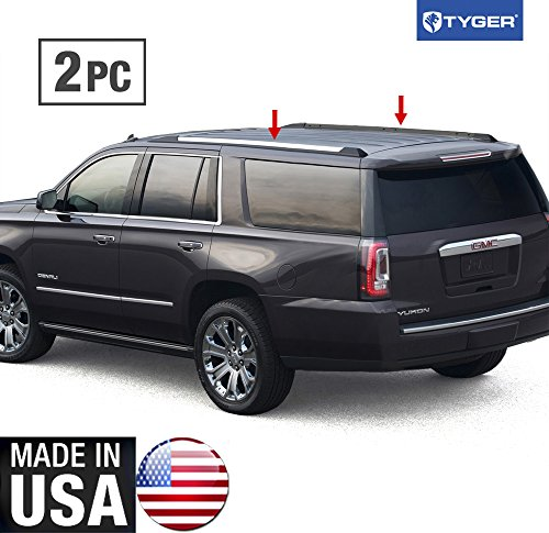Made In USA! 2015-2016 Chevy Suburban GMC Yukon XL Roof Rack Body Molding Trim 2PC (Xl Roof Rack compare prices)