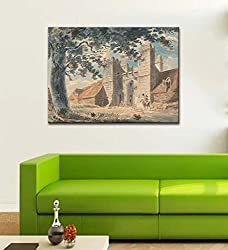Tallenge Old Masters Collection - Dent de Lion, Margate by J. M. W. Turner - Medium Size Ready To Frame Premium Quality Rolled Digital Art Print On Photographic Paper (18