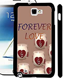 ColourCraft Love Image Design Back Case Cover for SAMSUNG GALAXY NOTE 2 N7100