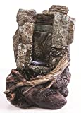 Kelkay Mini Wilwood Cascade Fountain Durable Resin-Stone