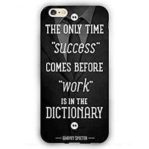 EYP SUITS Quotes Back Cover Case for Apple iPhone 6