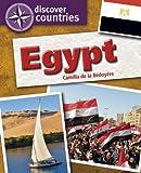 Camilla de la Bedoyere Egypt (Discover Countries)