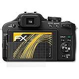 3 x atFoliX Schutzfolie Panasonic Lumix DMC-FZ150 Folie Displayschutzfolie - FX-Antireflex blendfrei