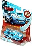 Disney Pixar P7006 Cars Lenticular Eyes #5 Dinoco Lightning McQueen 1:55 Diecast Vehicle Car