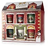 Yankee Candle - Home for the Holidays Magical Moments Christmas Votive / Sampler Cottage Gift Set