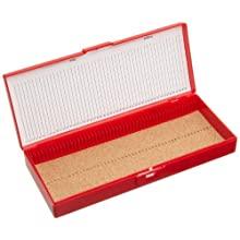 Heathrow Scientific Microscope Slide Box