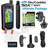 SkyCaddie SGXw WIFI GPS Range Finder Bundle