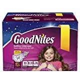 Goodnites Bedtime Pants for Girls, Large/Extra Large, 34 Count