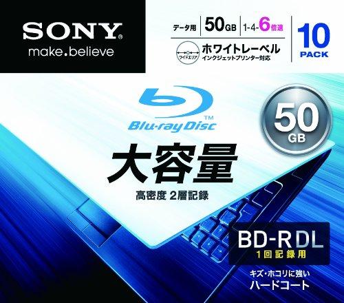 SONY Blu-ray Discs BD-R DL 6X 10-pack (2011)