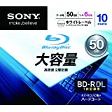 "Sony BD-R DL 6X Blu-ray Discs, 10-pack (japan import)von ""Sony"""