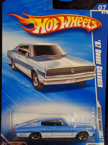 Hot Wheels Detailed Diecast 1967 Dodge Charger FTE Muscle Mania Series 1:64 Scale