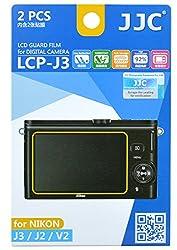JJC LCP-J3 ultra hard polycarbonate LCD Film Screen Protector For NIKON NIKON J3 J2 V2 (2 Kits)