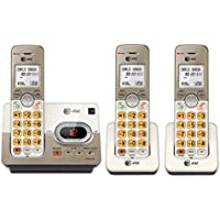 3 Pc. AT&T EL52313 DECT 6.0 Phone Answering System , Cordless Handsets (Silver)