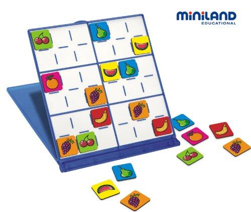 Miniland 36053 - Sudoku de Frutas [Importado de Alemania]