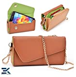 Universal PU Leather Wallet Wrist-let Phone Clutch Bag fits Acer Liqui... review