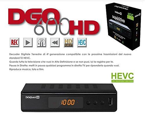 Digiquest 600HD Ricevitore