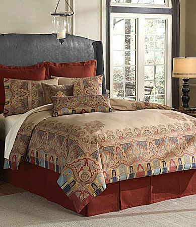 Navy And White Striped Bedding 4968 front