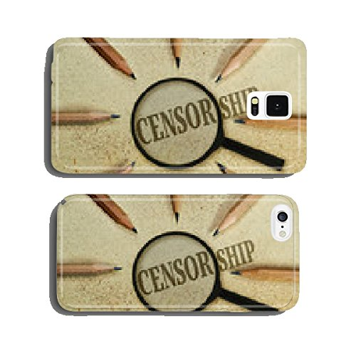 Censorship cell phone cover case Samsung S5