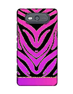 Pick Pattern Back Cover for Nokia Lumia 820(Matte)