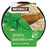 Upper Canada Soap Naturally Body Butter, Fresh Mint Quinoa, 6.4 Ounce