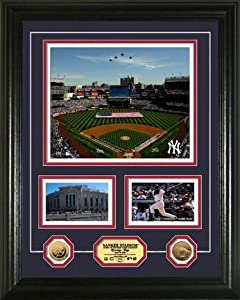 "Yankee Stadium Inaugural Season ""Marquee"" Framed 8"" x 10"" Photograph and Medallion Set from The Highland Mint"