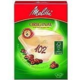 Genuine Original Melitta 102 Coffee Machine Brown Paper Filters (Pack of 80)