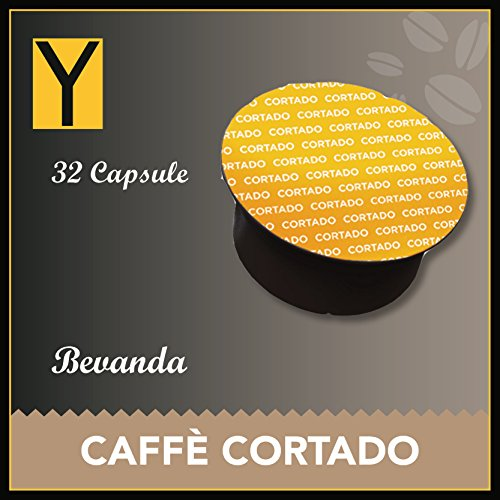 32 CAPSULE Caffè CORTADO compatibili per NESCAFE DOLCE GUSTO