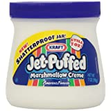 Jet-Puffed Marshmallow Creme, 7-Ounce Jars (Pack of 12) ~ Jet-Puffed