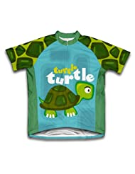Shy Turtle Short Sleeve Cycling Jersey for Women