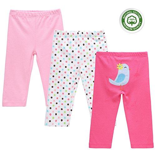 Mother Nest 3-packs Baby Pants (BBT015-12M)