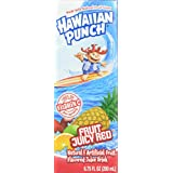Hawaiian Punch ,Fruit Juicy Red, 6.75 Ounce (Pack of 48)