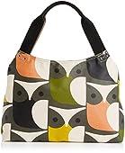 Orla Kiely Big Owl Print Classic Zip Shoulder Bag
