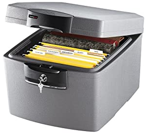 Sentry Fire-Safe Waterproof Security File ETL-verified Protects 30min Fire 36.6 Litre 30.8kg Ref H3100