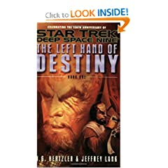 The Left Hand of Destiny, Book 1 (Star Trek: Deep Space Nine) by J. G. Hertzler and Jeffrey Lang